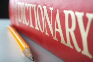 Использование толкового словаря английского языка на уроке